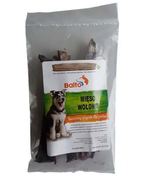 Suszone gryzaki dla psów