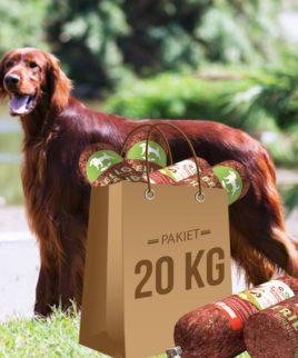 Mięso dla psów. Pakiet 20kg